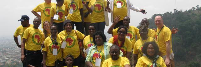 IofC francophone team members in Cameroon