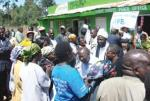 Imam Ashafa and Pastor Wuye join people from Burnt Forest, Kenya, to celebrate the opening of a Peace Office in the town. The festivities, which were the culmination of several days of intensive mediation by Ashafa and Wuye, were covered by national newspapers and television. Burnt Forest was the area worst affected by int