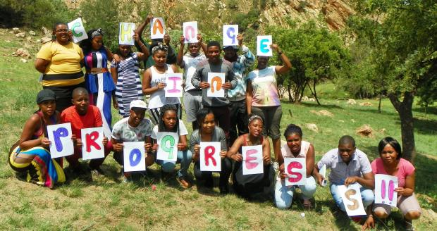 Participants of Change in Progress camp 2014