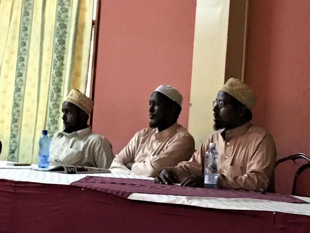 Interfaith dialogue - Muslim leaders in Garissa