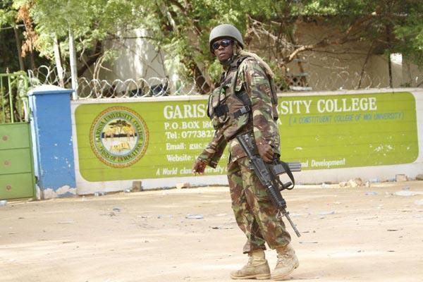 Outside Garissa University