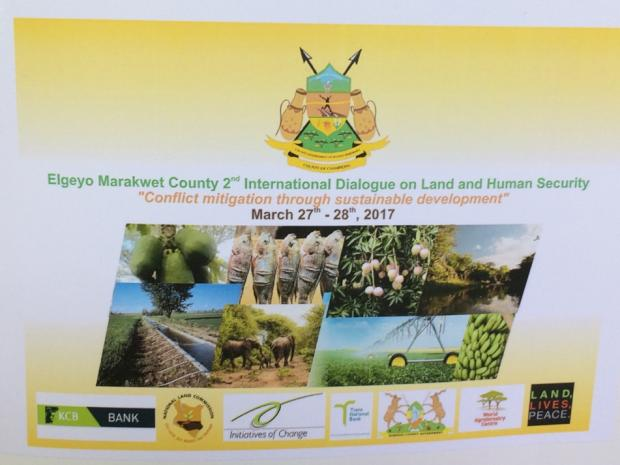 Report of Elgeyo Marakwet 2nd Int Dialogue on Land and Human Security