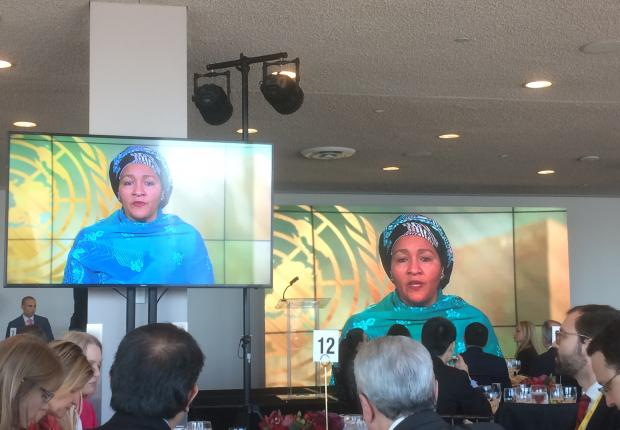 Video message from Ms Amina Mohamed, Deputy Secretary General of the United Nations