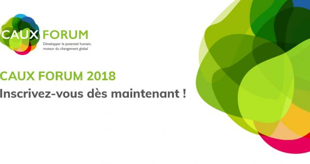 Caux Forum, registration, FR